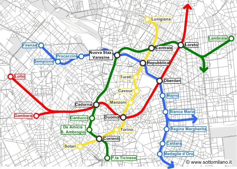 Corso garibaldi milano metro tavolo consolle allungabile - Milano porta garibaldi passante mappa ...