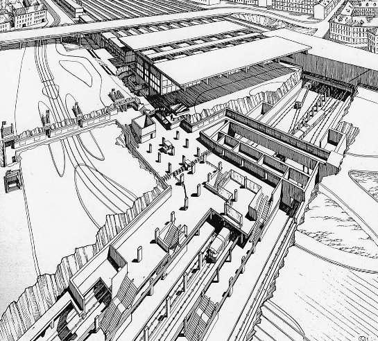 Stazione di garibaldi fs - Milano porta garibaldi passante mappa ...